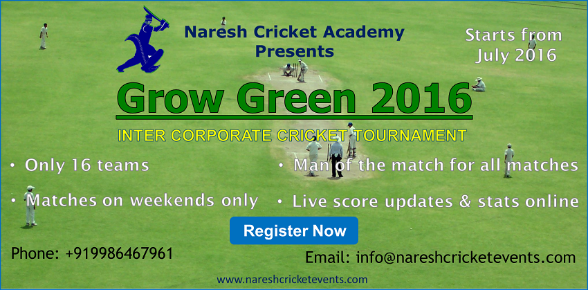 Inter Corporate Cricket Tournament Bangalore