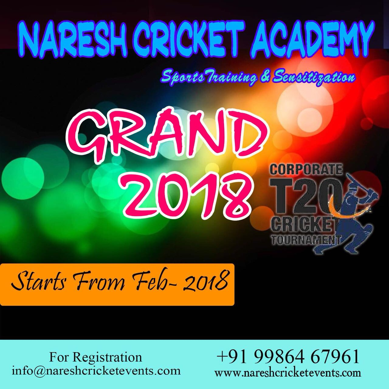 Grand 2018- Corporate Cricket Tournament